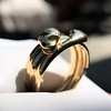 Antique Double Serpent Ring 11