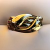 Antique Double Serpent Ring 14