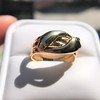 Antique Double Serpent Ring 18