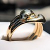 Antique Double Serpent Ring 10