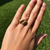 Antique Double Serpent Ring 23