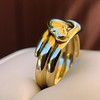 Antique Double Serpent Ring 16