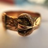Antique English Buckle Ring, by KBSP 30