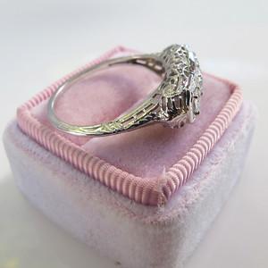 .60ctw Antique Filigree Old European Cut 3-Stone Ring