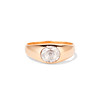 1.10ct (est) Antique Rose Cut Gypsy Ring 0