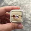 1.10ct (est) Antique Rose Cut Gypsy Ring 27