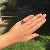 2.77ct Antique Sapphire Halo Ring, with AGL cert 34