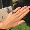 2.77ct Antique Sapphire Halo Ring, with AGL cert 28