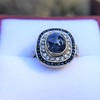 2.77ct Antique Sapphire Halo Ring, with AGL cert 13
