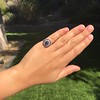 2.77ct Antique Sapphire Halo Ring, with AGL cert 32