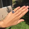 2.77ct Antique Sapphire Halo Ring, with AGL cert 26