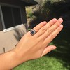 2.77ct Antique Sapphire Halo Ring, with AGL cert 29