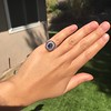 2.77ct Antique Sapphire Halo Ring, with AGL cert 27