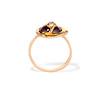 Victorian Garnet and Rose Cut Diamond Serpent Ring 2