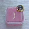Victorian Garnet and Rose Cut Diamond Serpent Ring 5