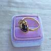Victorian Garnet and Rose Cut Diamond Serpent Ring 9