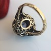Antique Victorian Sapphire and Diamond Ring 10