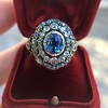 Antique Victorian Sapphire and Diamond Ring 20