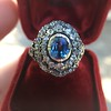 Antique Victorian Sapphire and Diamond Ring 25