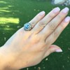 Antique Victorian Sapphire and Diamond Ring 27