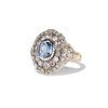 Antique Victorian Sapphire and Diamond Ring 1