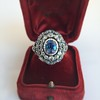 Antique Victorian Sapphire and Diamond Ring 30