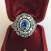 Antique Victorian Sapphire and Diamond Ring 26