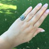 Antique Victorian Sapphire and Diamond Ring 31