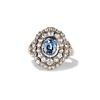 Antique Victorian Sapphire and Diamond Ring 0