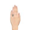 Art Deco Diamond Dinner Ring, Platinum 3