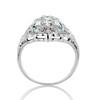 Art Deco Diamond Dinner Ring, Platinum 5