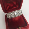 3.08ctw Art Deco OEC Diamond 5-stone Band 24