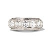 3.08ctw Art Deco OEC Diamond 5-stone Band 0