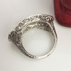 3.08ctw Art Deco OEC Diamond 5-stone Band 8