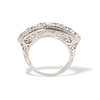 3.08ctw Art Deco OEC Diamond 5-stone Band 3