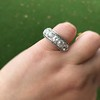 3.08ctw Art Deco OEC Diamond 5-stone Band 26