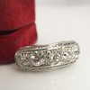 3.08ctw Art Deco OEC Diamond 5-stone Band 9