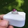 Edwardian Cabochon Burmese No-Heat Ruby Dome Ring, AGL 25