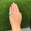 1.82ctw Edwardian Diamond Lozenge Dinner Ring 35