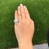 1.82ctw Edwardian Diamond Lozenge Dinner Ring 36