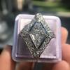 1.82ctw Edwardian Diamond Lozenge Dinner Ring 29