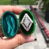 1.82ctw Edwardian Diamond Lozenge Dinner Ring 13