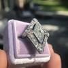 1.82ctw Edwardian Diamond Lozenge Dinner Ring 31