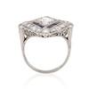 1.82ctw Edwardian Diamond Lozenge Dinner Ring 3