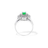 2.05ctw Emerald and Diamond Cocktail Ring 2