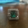 1.60ctw Emerald and Diamond Cocktail Ring 20