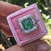 1.60ctw Emerald and Diamond Cocktail Ring 15