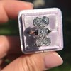 2.50ctw Geometric Old Mine Cut Diamond Dinner Ring 7