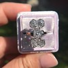 2.50ctw Geometric Old Mine Cut Diamond Dinner Ring 0