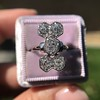 2.50ctw Geometric Old Mine Cut Diamond Dinner Ring 11